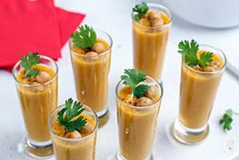 Organic Curried Butternut Squash Soup Shooters