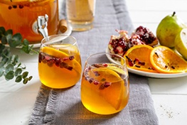 Organic Spiced Winter Sangria