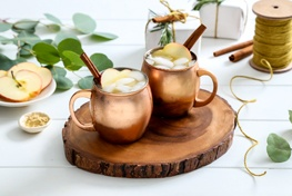 Organic Apple Cider Moscow Mule