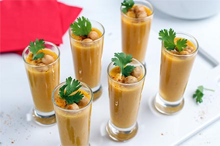 Simply Organic Holiday Organic Curried Butternut Squash Soup Shooters Recipe Recipe
