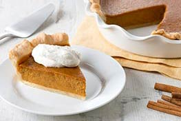 Organic Perfectly Spiced Pumpkin Pie