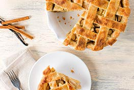 Organic Vanilla Bean Apple Pie