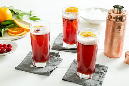 Simply Organic Organic Cranberry Orange Gin Fizz Recipe Recipe