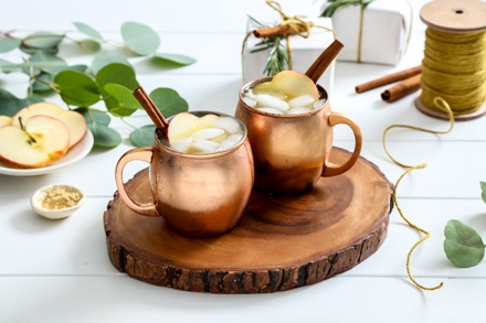 Simply Organic Holiday Apple Cider Moscow Mule