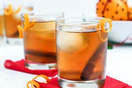Organic Cardamom Orange Old Fashioned
