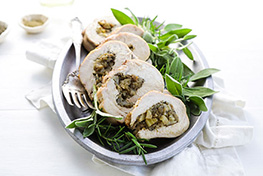 Organic Turkey Roulade