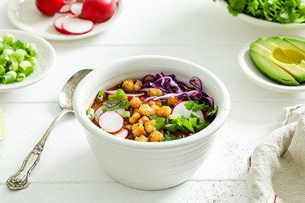 Simply Organic Organic Red Chicken Pozole with Ancho Chile Recipe Recipe