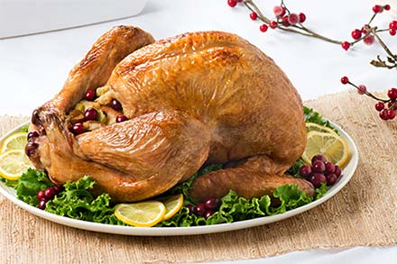 Simply Organic Holiday Organic Cranberry Ginger Turkey Brine Recipe