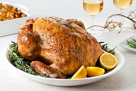 Simply Organic Holiday Organic Herb Roasted Turkey Recipe