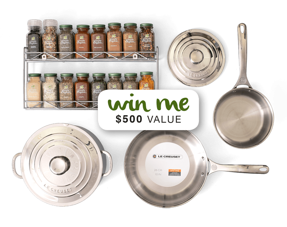 CookForJoy Giveaway | Simply Organic