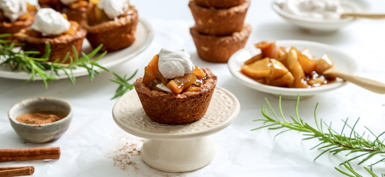Simply Organic Holiday Organic Apple Oatmeal Cookie Cups with Allspice Recipe