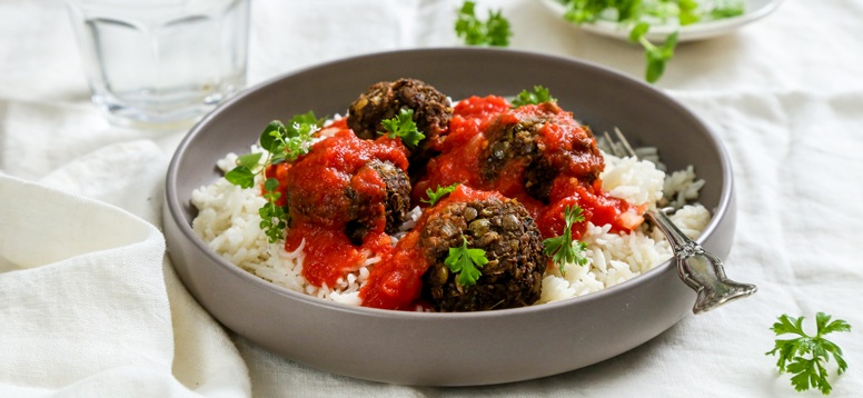 Simply Organic Holiday Organic Spanish Vegan Meatballs with Smoked Paprika Recipe