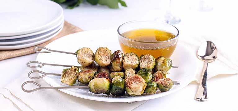 Simply Organic Holiday Organic Brussels Sprouts with Sage Brown Butter Recipe