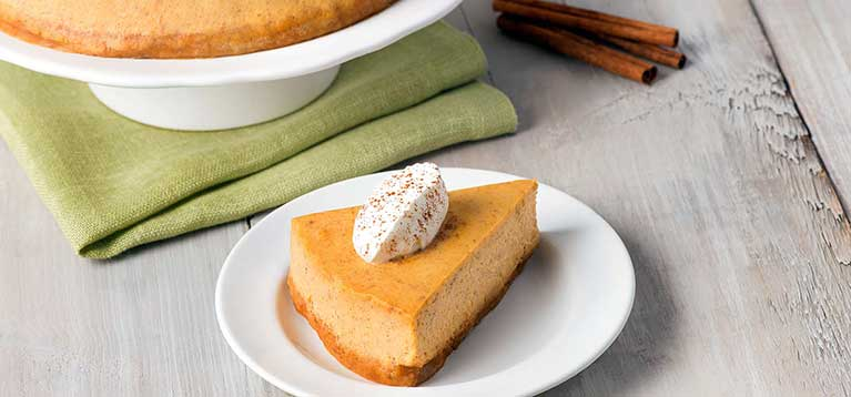 Simply Organic Holiday Organic Pumpkin Spice Cheesecake Recipe