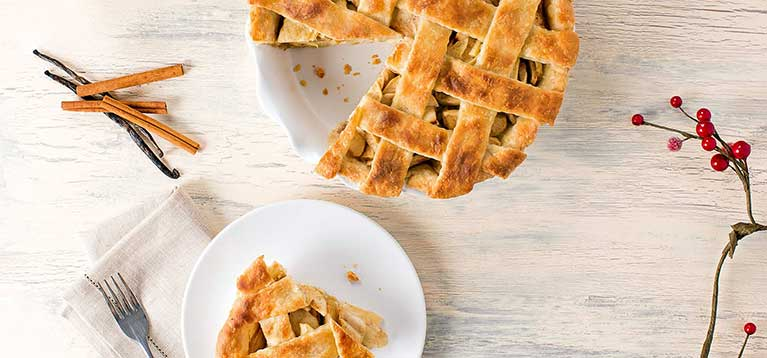 Simply Organic Holiday Organic Vanilla Bean Apple Pie Recipe