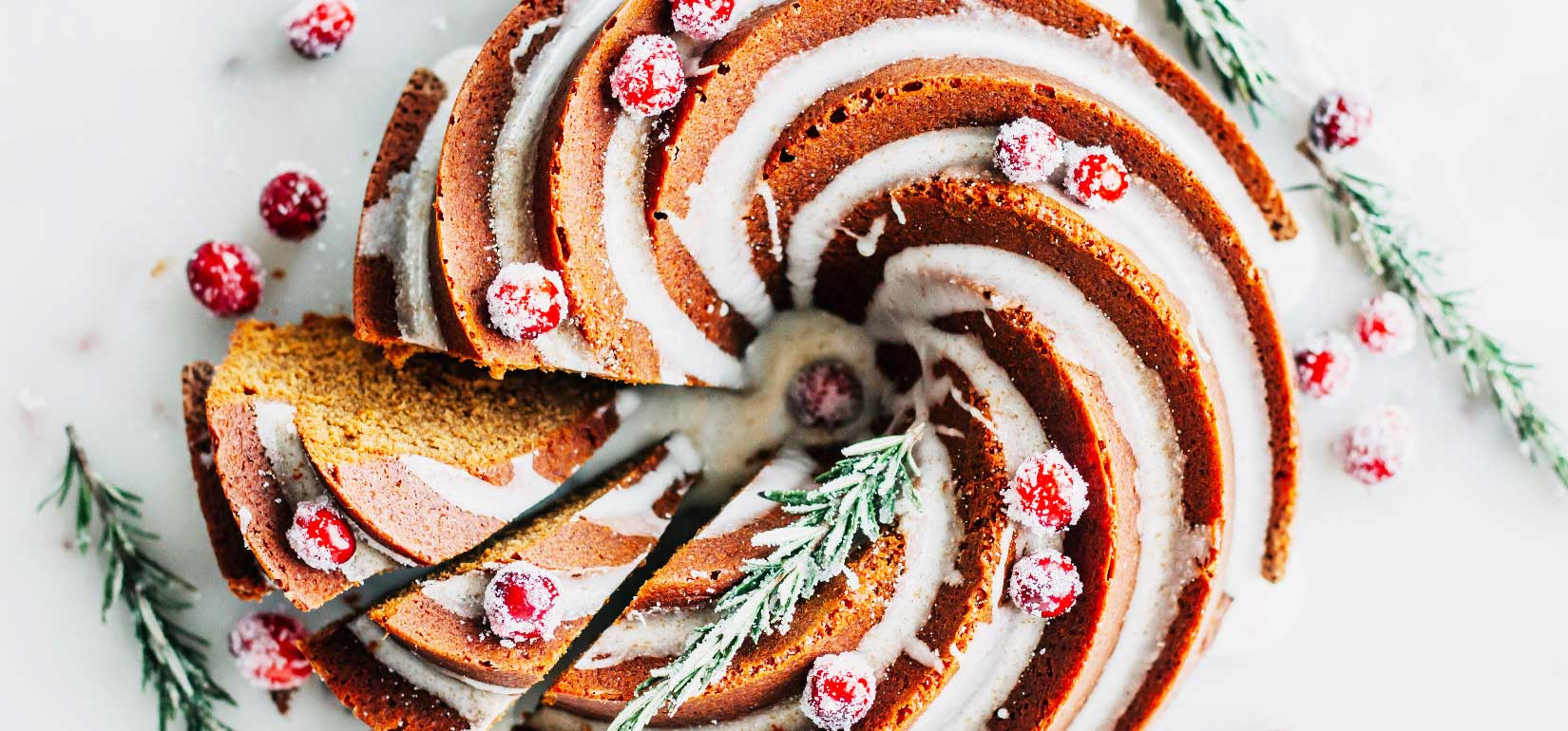 Gingerbread Bundt Cake with Ginger and Cinnamon Glaze