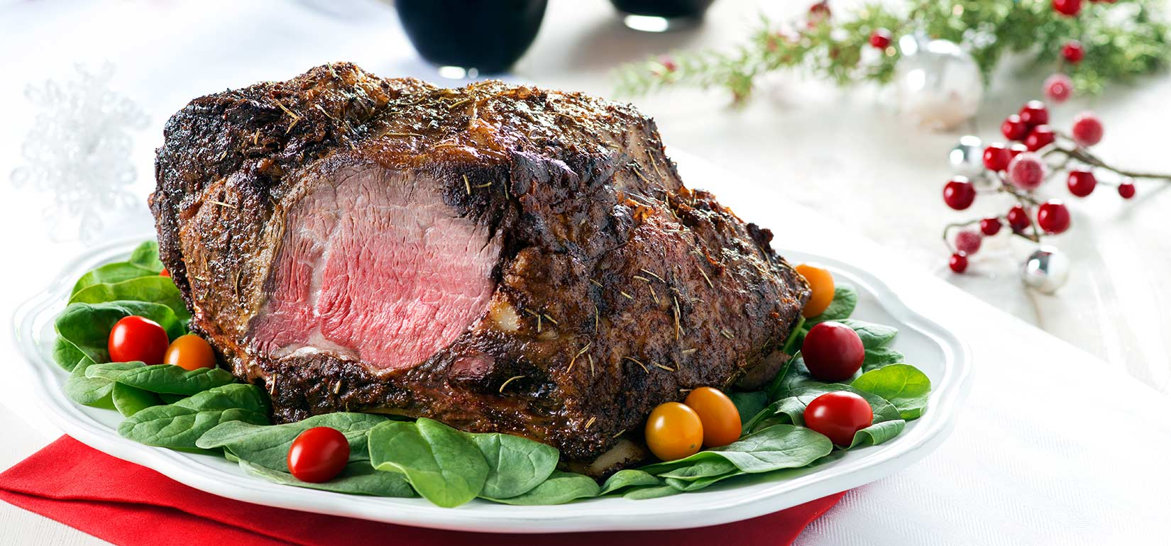 Organic Garlic and Sea Salt Rubbed Prime Rib | Prime Rib Recipes That Will Make Your Mouth Water | Slow Cooker Prime Rib