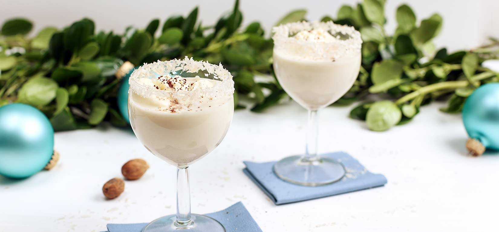 Simply Organic Holiday Organic Spiced Rum Coquito Recipe