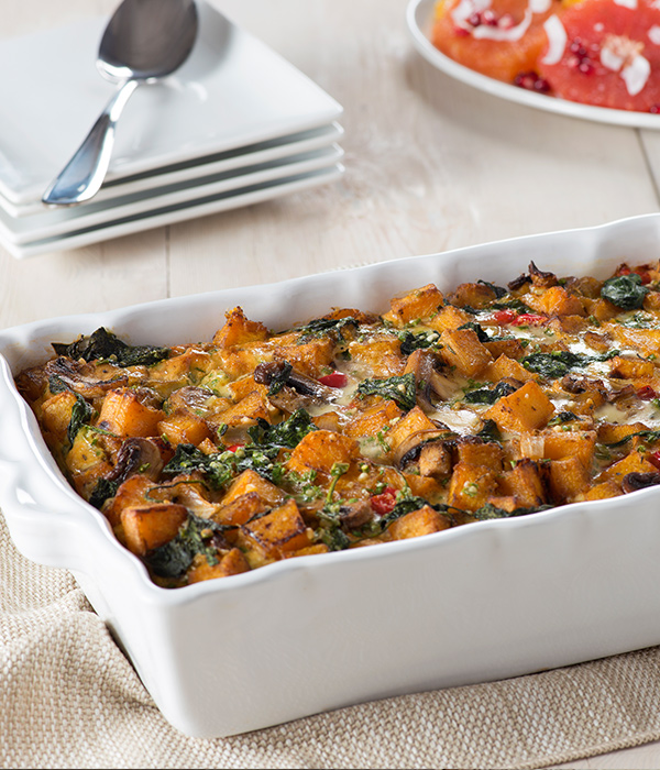 Organic festive vegetarian breakfast casserole recipe simply organic forumfinder Images