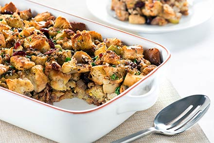 Simply Organic Holiday Organic Apple Cinnamon Cranberry Stuffing Recipe