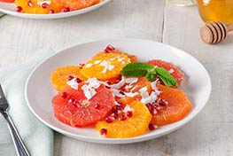 Organic Cardamom Citrus Fruit Salad