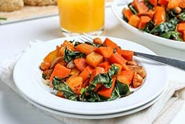 Organic Maple Chipotle Sweet Potato Hash