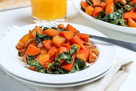 Simply Organic Holiday Organic Maple Chipotle Sweet Potato Hash Recipe