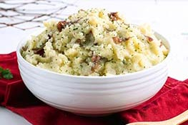 Organic Parsley and Garlic Mashed Potatoes