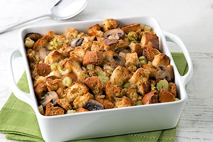 Simply Organic Holiday Organic Rosemary and Sage Turkey Stuffing Recipe